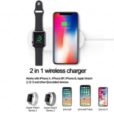 Mini AirPower Wireless Charger for IPhone & iWatch