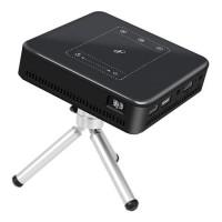 Mini Portable HD 1080P 4K Android 7.1 Wifi Smart SD Theater Cinema Projector