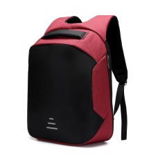 """OKADE S41 Smart Anti Thif Laptop Backpack 15.6"""" With USB RED"""