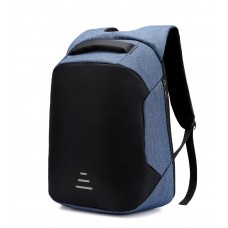 """OKADE S41 Smart Anti Thif Laptop Backpack 15.6"""" With USB BLUE"""