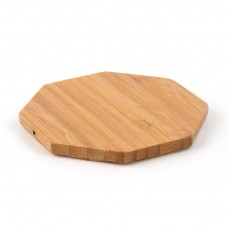 Wood Fast Charging Base Portable QI Standard Wireless mobile phone Charger