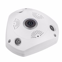 I-SHARP VR  Wireless camera 3D Panoramic 360 Degree View IP Camera with voice