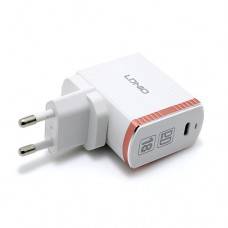 LDNIO A1302Q-C TYPE-C FAST CHARGER SINGLE PORT WITH 18W OUTPUT