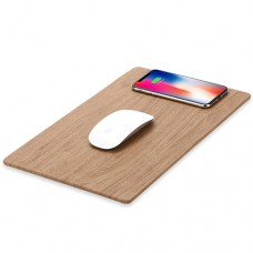 Wireless charger for compatible devices with mousepad