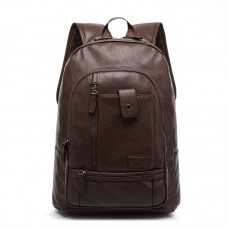 North Wolfman Casual Leather Shoulder Bag, Laptop backpack