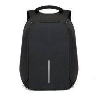 Anti Theft Security Travel Backpack & Laptop Bag With USB Charging Port ( Black )