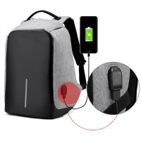 Anti Theft Security Travel Backpack & Laptop Bag With USB Charging Port