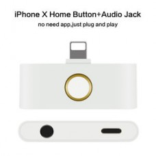 iphone X home button audio jack