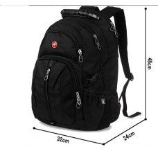 SWISSGEAR 7125 Backpack- Black