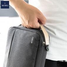 WiWU Cozy Double Layer Storage Bag Waterproof 8.2-Gray